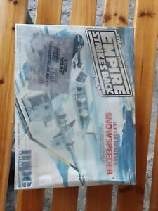 STAR WARS LUKE SKYWALKER'S SNOWSPEEDER MPC #8914 FACTORY SEALED PLASTIC KIT 1989