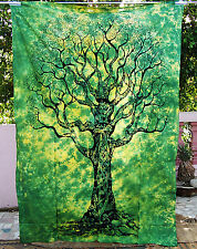 Tree of Life Hippie Tapestry Bohemian Wall Hanging Bedspread Twin Ethnic Decors