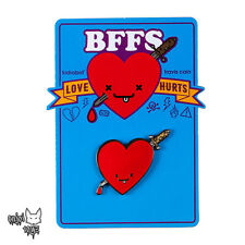 Jimmy & Ice - BFFS Lover Hurts Series Enamel Pin x Kidrobot Brand New