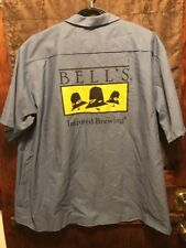 BELLS BREWERY Michigan ~ 4XL ~ NEW ~ Red Kap Beer Delivery Work Shirt ~ HOPSLAM