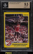 1983-84 Star All-Rookies Dominique Wilkins ROOKIE RC #8 BGS 9.5 GEM MINT