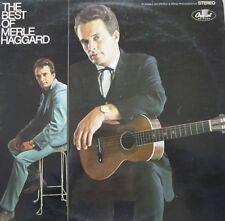 MERLE GAGGARD - THE BEST OF MERLE HAGGARD - LP