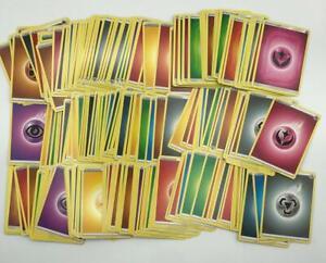 Pokemon 100 Zufällige Energie Karten Deckaufbau Deutsch NEU viel Variation