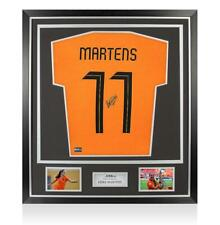 More details for lieke martens back signed holland t-shirt with fan style numbers in classic fram