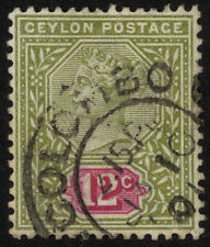 Colony Single Ceylon Stamps (pre-1948)