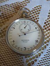LEONIDAS-BREGUET  Vintage Stopwatch Chronomètre Heuer Swiss Semikrograph  WWI