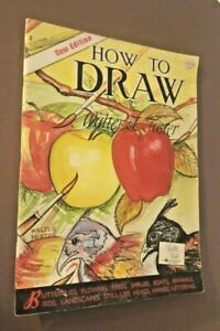 How To Draw & Paint: One & Two By Walter Foster. 1989. VTG.