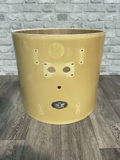 """More details for pearl vision bass drum shell 20""""x18"""" bare wood project / upcycle"""