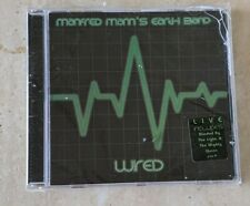 NEW SEALED MANFRED MANN'S EARTH BAND WIRED CD + FREE SHIPPING