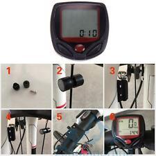 Cuentakilómetros Velocímetro Inalámbrico Accesorio Práctico para Bicicleta