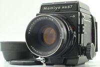 [MINT] Mamiya RB67 PRO S + Sekor NB 127mm F/3.8 120 Film Back From JAPAN