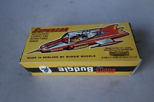 BUDGIE 272 - SUPERCAR WHITE METAL KIT WITH TRANSFERS - MINT/BOXED - L@@K!!