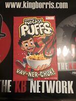 Gary Vee Podcast Puffs / Super Rare / Never Opened / Original