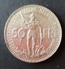 Belgique - Léopold III - Très Jolie  50  Francs 1935  VL Pos A  Exposition1935