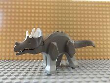 LEGO Triceratops Dino Dinosaur Animal Mini Figure Complete Very Rare 2000 Set
