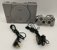 Sony PlayStation PS1 Video Game Console PAL TESTED COMPLETE