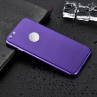 Luxury Film Wrap Decal Skin Case Sticker PVC Back Cover For iPhone X 6s 7 8 Plus