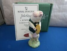 GEORGE CYMBALIST GLOUCESTER OLD SPOTTED PIG PROM LIMITED EDITION  PP10 BESWICK