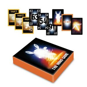 The Mind Card Games 2-4 Players Pandasaurus Strategy Game for Kids Adults Gifts