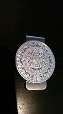Mexican Aztec Mayan Coin Money Clip Wallet Silver Money 1oz Plata 999 $ Mexico