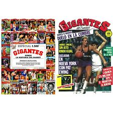 NEW!! Gigantes del Basket Special 35th years + Gigantes 01 Reissue - August 2020