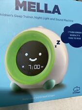 LittleHippo Mella Ready to Rise Children's Trainer and Clock with Night Light -