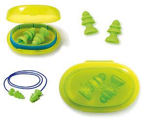 Reusable Ear Plugs Moldex Comets Earplugs 6421/6420 Corded/Uncorded Silicone