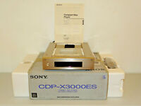 Sony CDP-X3000ES High-End CD-Player Champagner mit FB&BDA, OVP&NEU, 2J. Garantie