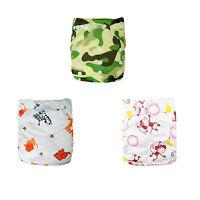 U pick Alva baby Cloth Diapers Washable Reusable Pocket Nappy +1 insert Lot