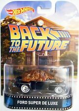 HOT WHEELS 2014 RETRO ENTERTAINMENT BACK TO THE FUTURE BIFF'S FORD SUPER DE LUXE