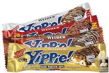 Weider YIPPIE! Bar 12x 70g (30,94�'�/Kg) Protein Eiwei�Ÿ Riegel 36%25 !ALLE SORTEN