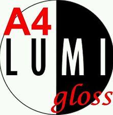 A4 160 gsm x 1000 sheets LUMI GLOSS 2 SIDED PRINTER PAPER - LASER - DIGITAL