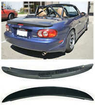 For 99-05 Mazda Miata NB MX5 MazdaSpeed MZ Style Rear Trunk Lip Wing Spoiler Kit