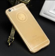 Glitter Clear Ultra-thin TPU Gel Soft Case Cover Skin For iPhone 5S 6SPlus Phone