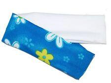2 Stretch Bright Blue White Cute Daisy Headband Hair Band Bandeau Dance Ballet