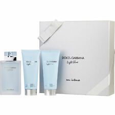 Dolce & Gabbana D & G Light Blue Eau Intense EDP Spray & Body Cream & 100ml