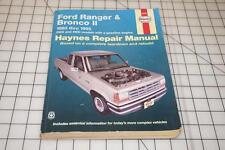 1983-1992 ~ FORD Ranger & BRONCO2 ~ AUTOMOTIVE REPAIR MANUAL by Haynes