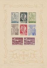 PORTUGAL: 1940 Portuguese Centenaries  miniature sheet SG MS919a MNH