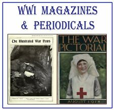 World War 1 Magazines on DVD 1914-1918 WW1 Great war Illustrated New History M0