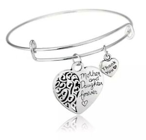 Mother and Daughter Bracelet Christmas birthday mothers day  Gift 850