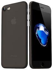 Für iPhone 7 & 7+ Plus UltraSlim mit Panzerglas Case Hülle Cover Matt Etui
