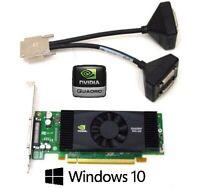 Dell Optiplex Tower 390 790 990 7010 9010 Quadro Quad 4 Monitor DVI Video Card