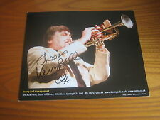 Kenny Ball (Jazz Musician) 10x8 hand signed RARE *FREE POSTAGE*