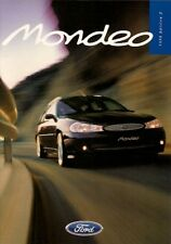 Ford Mondeo 1998-99 UK Market Sales Brochure ST24 Ghia X Si GLX LX