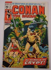 CONAN THE BARBARIAN #8 BARRY SMITH  GLOSSY FRESH NM 9.4/9.6  OW