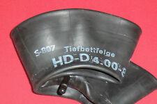 Schlauch für Anhänger 4.00-8, verstärkt, gerades Gummiventil TR13