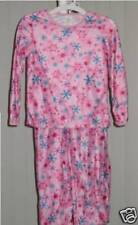 Girls Long Sleeve Pajamas PJ Sleepwear Pink NWOT Medium