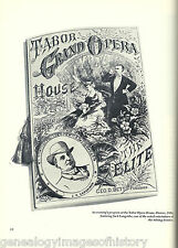 Frontier Opera Houses Of The Old West+Abalos,Abbott,Barnum,Betts,Biscaccinanti