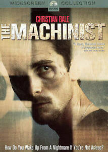 The Machinist (DVD) Christian Bale, NEW, Sealed, 1 Day Handling Fast Shipping!