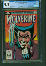 Wolverine Limited Series 1 CGC 9.2 NM - Frank Miller Marvel 1982